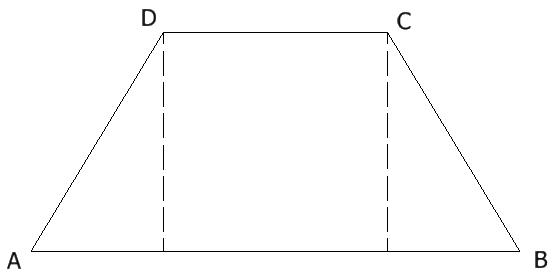 Teorema de trapecio isósceles: ángulos de la base congruentes y ...
